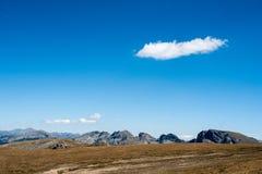 Eenzame wolk Stock Fotografie