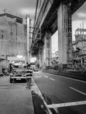 Eepney parkował wzdłuż Recto alei, blisko Tomas Mapua skrzyżowania w Sta Cruz Manila Zdjęcia Stock