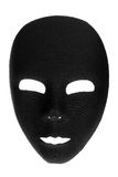 Eerie Black Face Mask Stock Images
