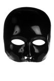 Eerie Black Face Mask Royalty Free Stock Image