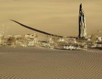 Eerie details, sand dune Stock Photo