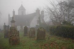 Eerie Graveyard Royalty Free Stock Photos