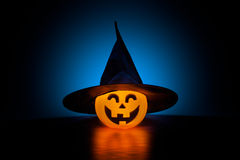 Eerie Witch O'Lantern Royalty Free Stock Images