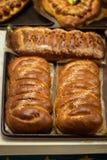 Eerlijk brood met sesam royalty-vrije stock foto's