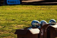 Eerlijk spel en voetbal royalty-vrije stock afbeeldingen