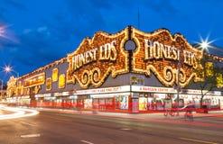 Eerlijke Eds bij Nacht Royalty-vrije Stock Fotografie
