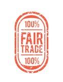 Eerlijke Handelsvector Royalty-vrije Stock Afbeeldingen