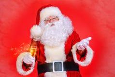 Eerlijke santa Stock Fotografie