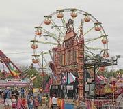 Eerlijke Staat Eerlijk Ferris Wheel Stock Afbeelding