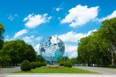 Eerlijke Unisphere van de wereld Stock Foto