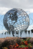 1964 Eerlijke Unisphere van de Wereld van New York in het Spoelen van Weidenpark Stock Foto's