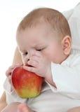 Eerste appel Royalty-vrije Stock Fotografie