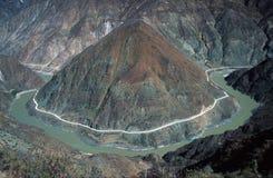 Eerste Baai van Rivier Yangtze stock afbeelding