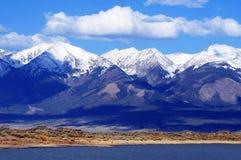 Eerste Bergsneeuw Colorado Royalty-vrije Stock Afbeeldingen