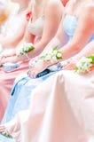 Eerste bruidsmeisje Royalty-vrije Stock Foto