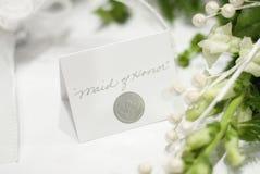 Eerste bruidsmeisje Royalty-vrije Stock Foto's