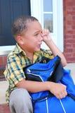 Eerste Dag van School Stock Fotografie