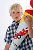 Eerste dag van school in Duitsland Royalty-vrije Stock Fotografie