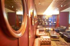 Eerste de klassenzitkamer van emiraten stock afbeelding
