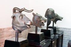Eerste dierenstandbeeld van het Oude Paleis van de Zomer royalty-vrije stock fotografie