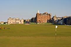 Eerste groene St Andrews Oude Cursus Royalty-vrije Stock Foto's