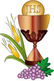 Eerste Heilige Communie Stock Afbeeldingen