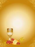 Eerste Heilige Communie royalty-vrije illustratie