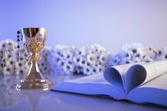 Eerste heilige kerkgemeenschap royalty-vrije stock foto's