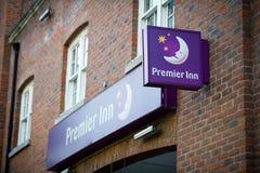 Eerste Herbergenhotel in Londen, het UK Stock Afbeeldingen