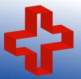 Eerste hulp of medisch teken Royalty-vrije Stock Afbeeldingen