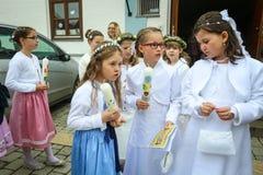 Eerste kerkgemeenschap Royalty-vrije Stock Afbeelding
