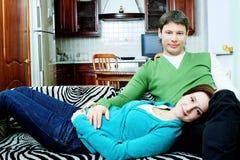 Eerste kind Stock Foto