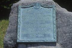 Eerste landende vlek van de Pelgrims, Provincetown, Cape Cod, Massachusetts Stock Afbeelding