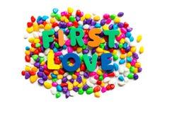 Eerste liefde Stock Foto