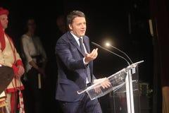 Eerste Matteo Renzi Royalty-vrije Stock Fotografie