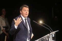 Eerste Matteo Renzi Stock Afbeeldingen