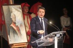 Eerste Matteo Renzi Stock Foto