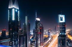 Eerste Meningen vanaf de bovenkant van Burj Khalifa Stock Fotografie