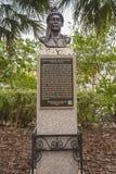 Eerste Mensen van het Inheemse Monument van Florida Stock Fotografie