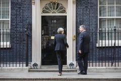 Eerste minister van het Verenigd Koninkrijk Theresa May Stock Afbeelding