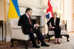 Eerste minister van het Verenigd Koninkrijk Theresa May Royalty-vrije Stock Foto
