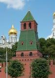 Eerste Naamloze Toren van Moskou het Kremlin Stock Afbeeldingen
