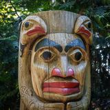 Eerste Natiestotempaal in Vancouver royalty-vrije stock fotografie