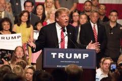 Eerste Presidentiële de campagneverzameling van Donald Trump in Phoenix royalty-vrije stock afbeelding