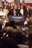 Eerste Presidentiële de campagneverzameling van Donald Trump in Phoenix stock foto