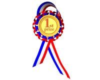 Eerste prijsmedaille Royalty-vrije Stock Afbeeldingen