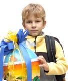 Eerste schooldag Royalty-vrije Stock Afbeelding