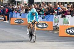 Eerste stadium van het ras van Tirreno Adriatica Stock Fotografie