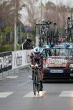 Eerste stadium van het ras van Tirreno Adriatica Stock Afbeeldingen