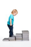 Eerste stappen van onderwijs Stock Afbeeldingen
